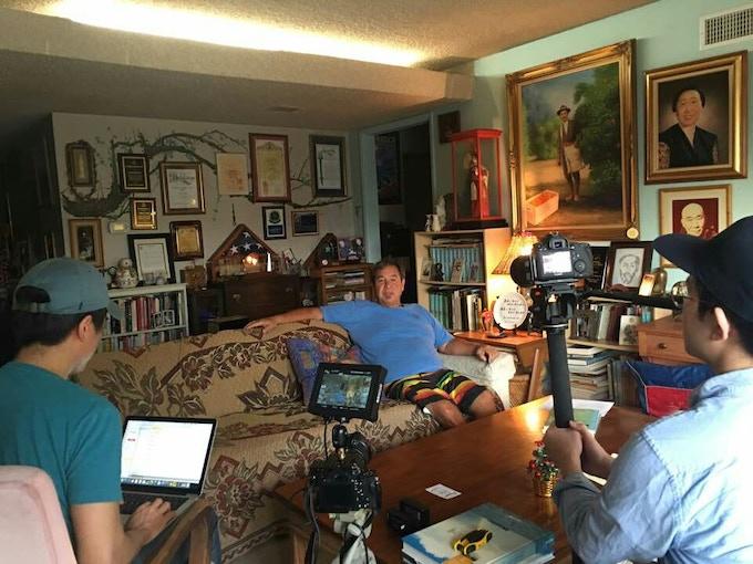 Interviewing Flip Cuddy Ahn (Grandson of Dosan Ahn Changho) in California