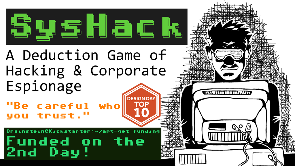 SysHack: A Deduction Game of Hacking & Corporate Espionage project video thumbnail