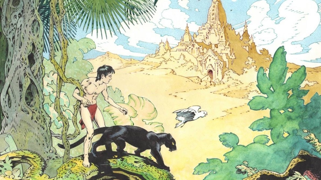 P. Craig Russell's Jungle Book And Other Stories Fine Art Ed project video thumbnail