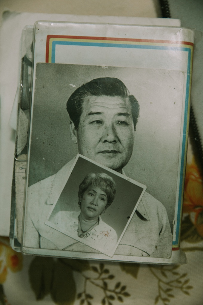 Jeronimo (and his wife, Cristina)