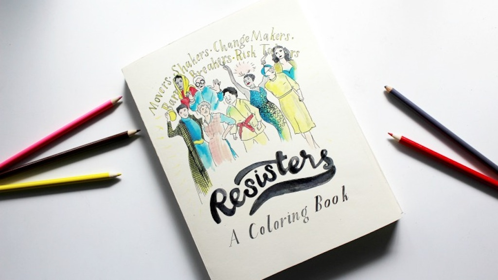 Resisters: A Coloring Book project video thumbnail