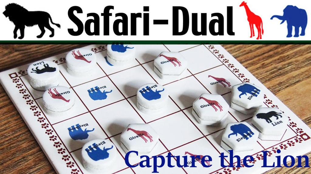Safari-Dual capture the Lion similar to chess project video thumbnail
