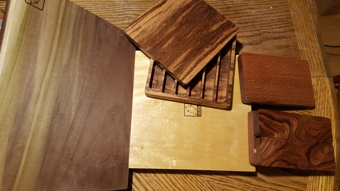 Poplar - Yellowheart - Zebrawood - Bolivian Rosewood - Leopardwood can now be yours