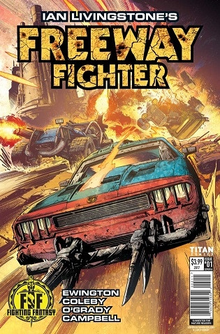 Ian Livingstone's FREEWAY FIGHTER #1