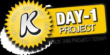 Kicktraq Day one Badge!