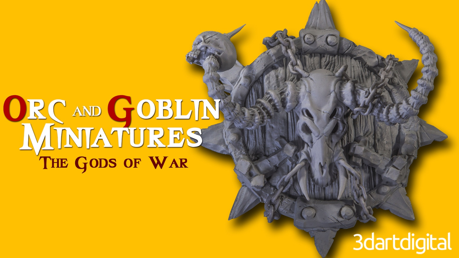3dArtDigital wants to create Orc and Goblin miniatures with interchangeable armor, weapons, and accessories as multi-part model kits.