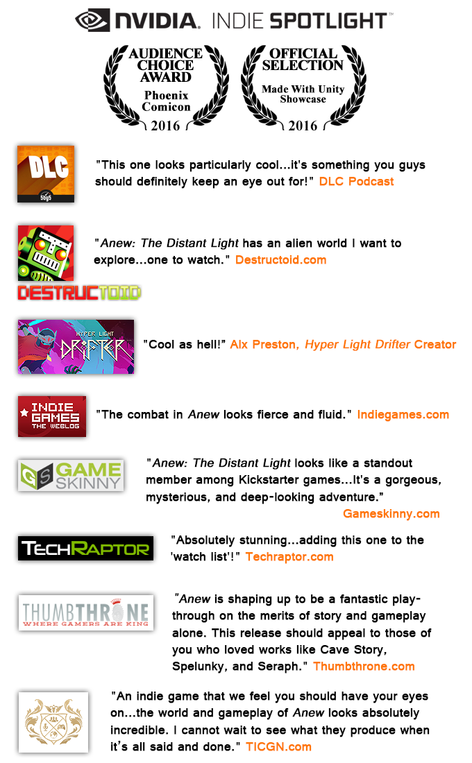 Anew: The Distant Light by Resonator — Kickstarter