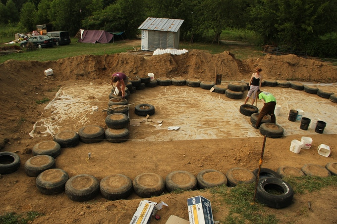 Shortly after returning to TN, I took my savings and began construction of Middle Tennessee's first Simple Survival Earthship.