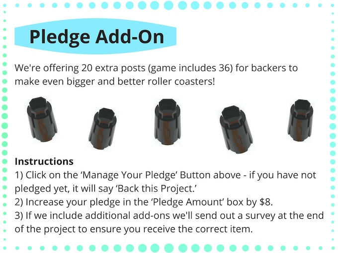 Pledge Add-Ons