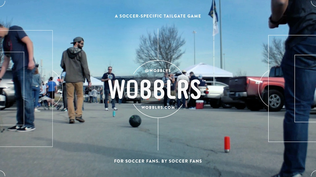Wobblrs: The first soccer-specific tailgate game project video thumbnail