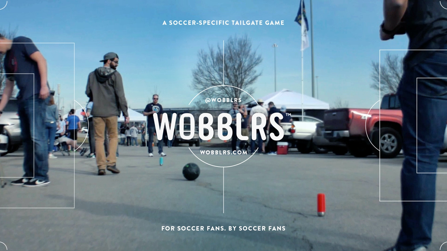 Wobblrs, the first and only tailgate game for soccer fans, an exciting recreational and developmental tool for all ages and abilities.