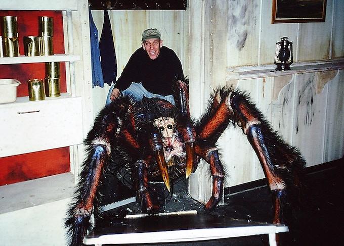 """On set of """"Spiders II: Breeding Ground"""" (2001, Nu Image)"""