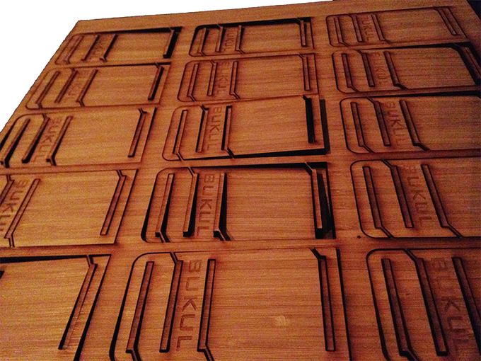 Hot off the laser-cutter and ready to assemble!