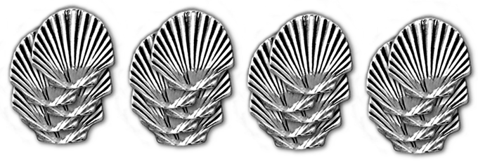 20 Metal shells, image is an example and may change