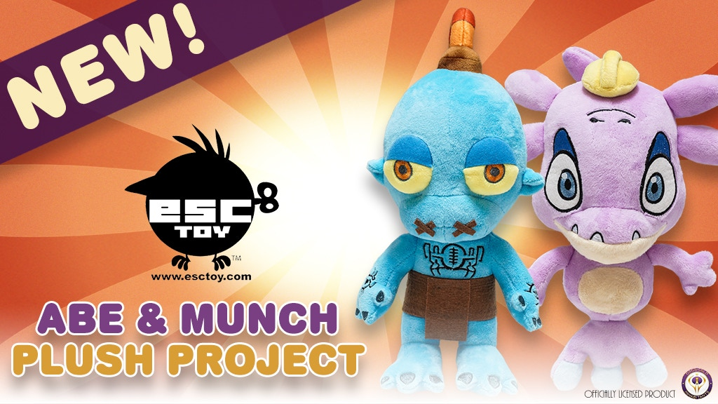 Oddworld Abe & Munch Plush Project project video thumbnail