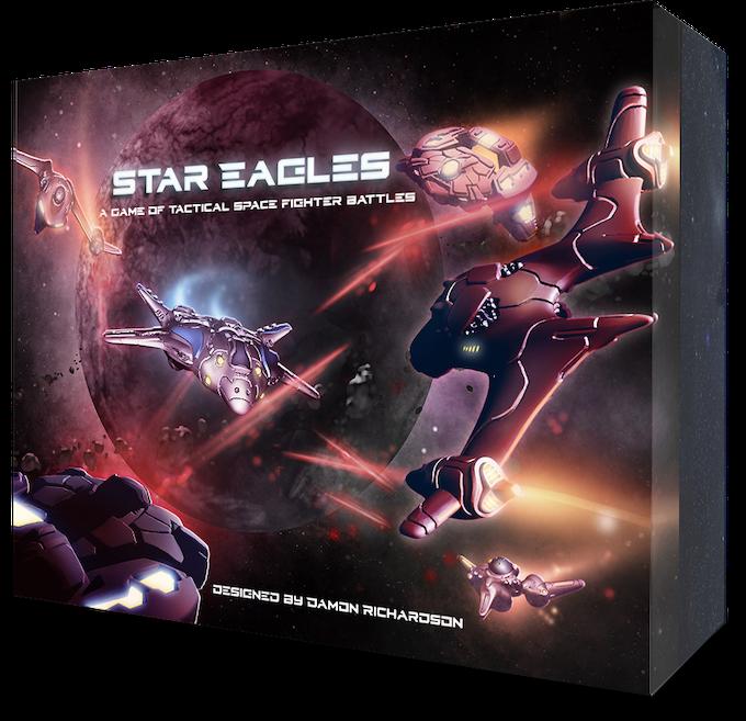 Star Eagles Game Box Concept