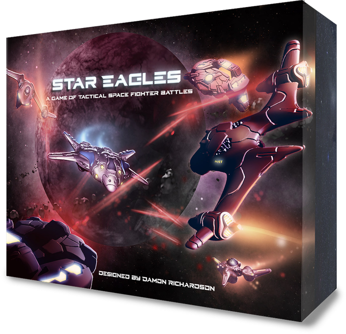Star Eagles Game Box Concept