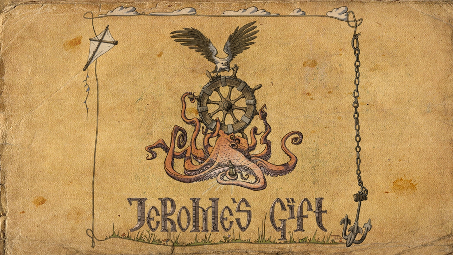 Jerome's Gift by Trent Denham » Belated Happy New Year and