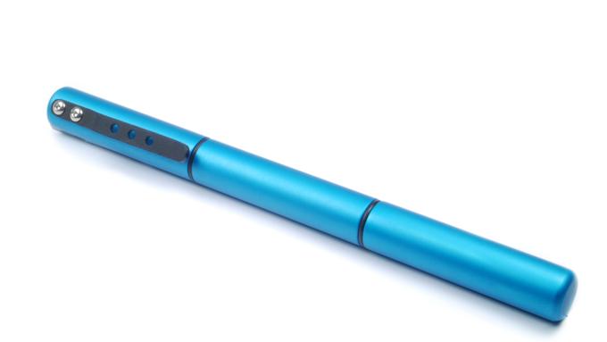 Aluminum, Blue color anodize