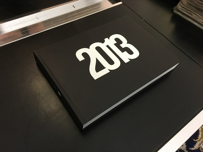 The book should look like that. Without the 2013.