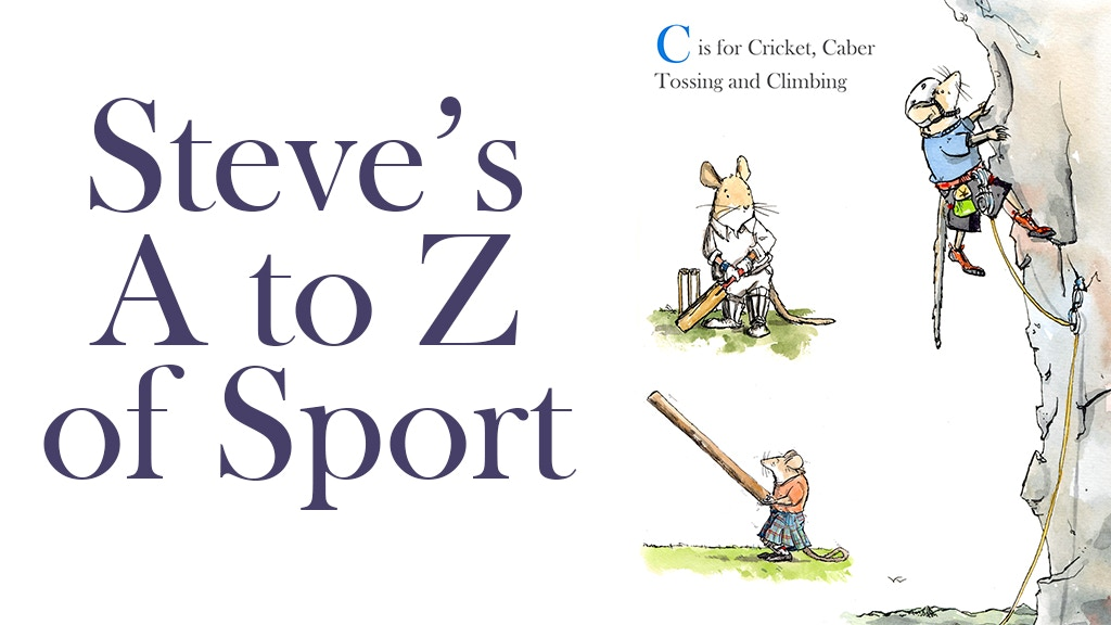 Steve's A to Z of Sport Children's Book project video thumbnail