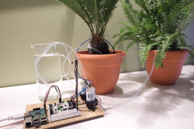 A autonomous plant monitor/watering system