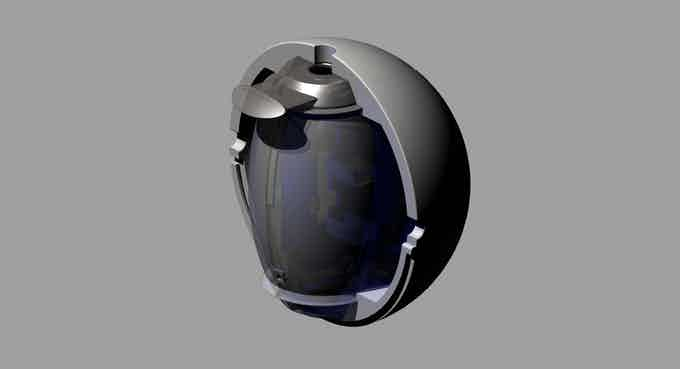 Sphere and capsule