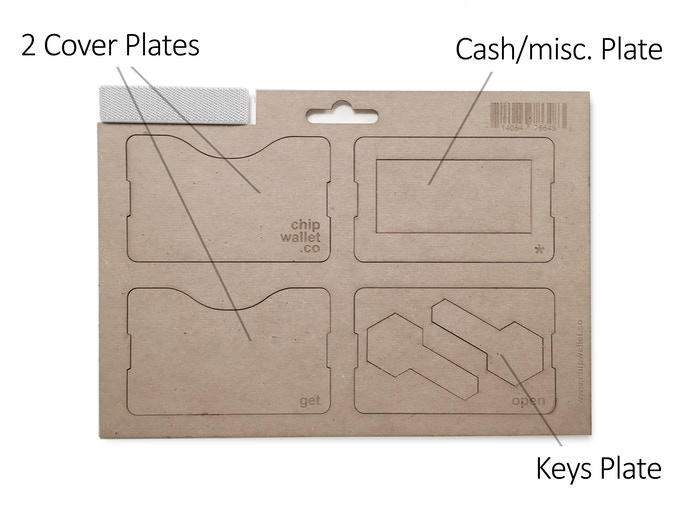Comes with 4 Interchangeable Plates