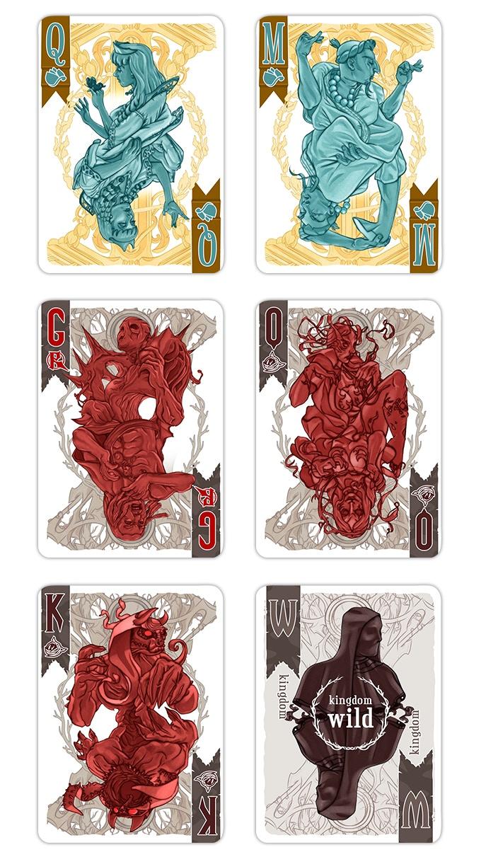 card art samples (art not final)