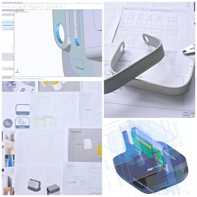 Conceptual Sketches and Product Industrial Design
