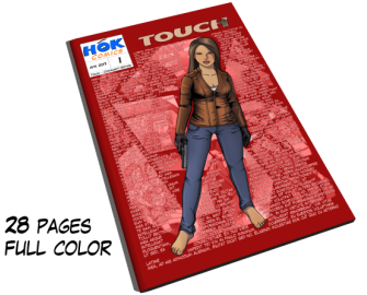Touch #1 – Mystery Crime Comic Series (English & Deutsch) by HOK