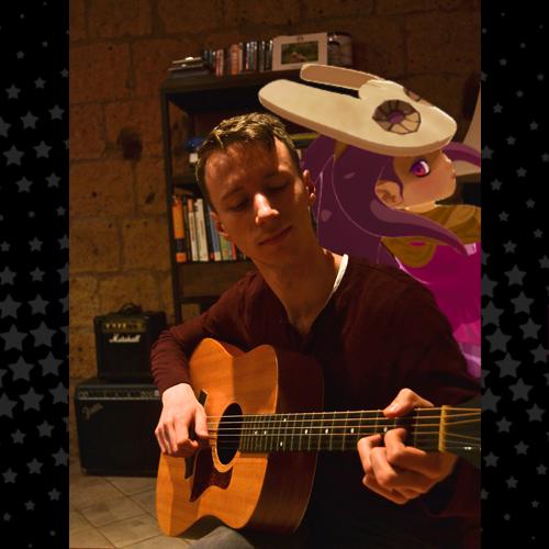 Alex performing his nightly serenade to Fractal