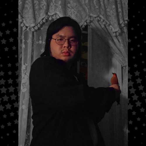 Khoa encapsulates the midnight with his eternal darkness