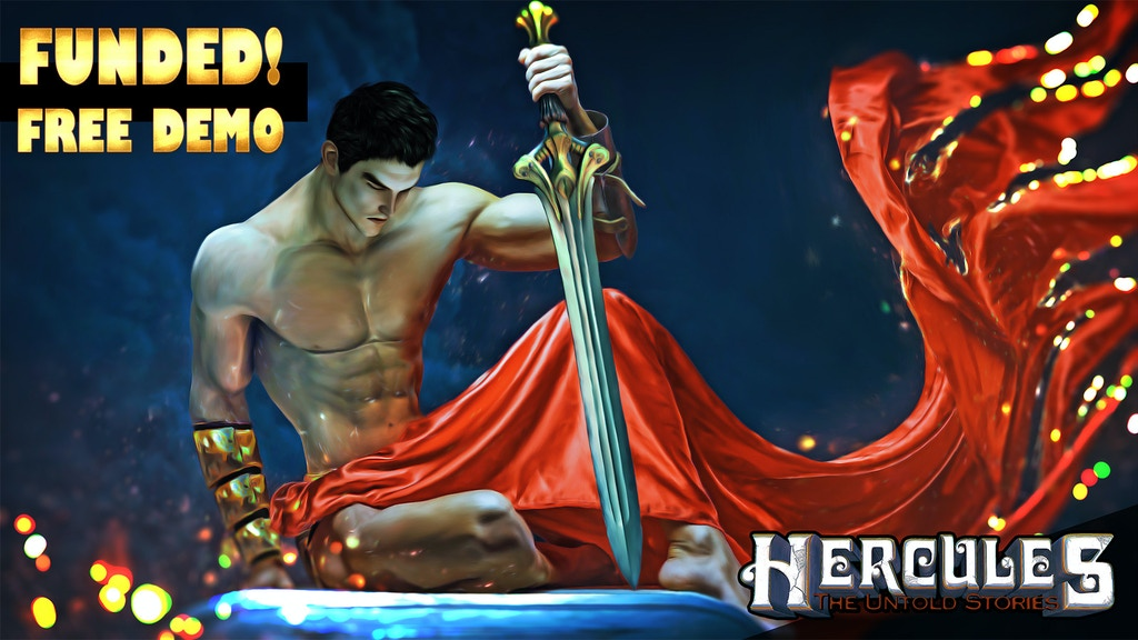 HERCULES - The Untold Stories project video thumbnail