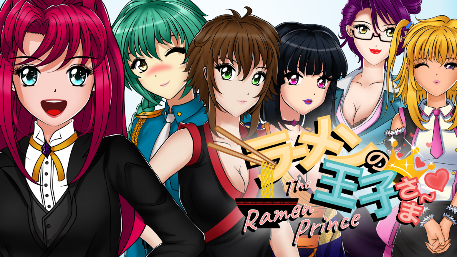 A multi route mature visual novel with 10 female love interests to choose from