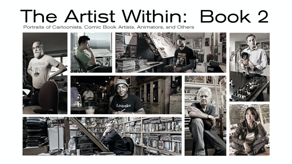 The Artist Within, Photographic Portraits Of Artists: Book 2 project video thumbnail
