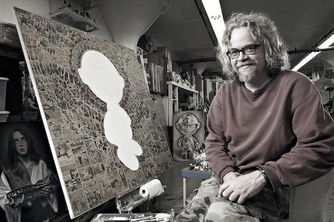 Painter Ron English