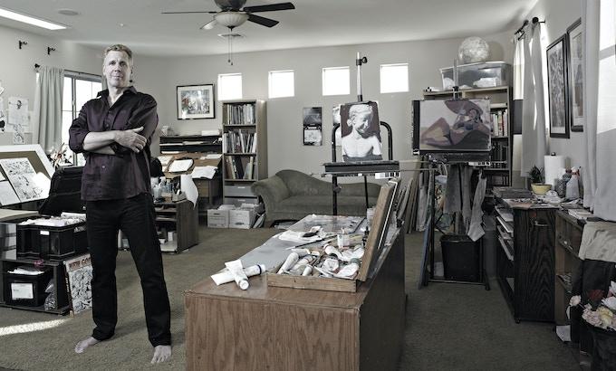 Comic Book Artist and Illustrator Steve Rude