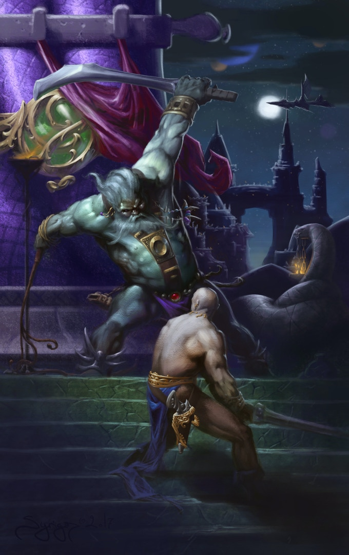 Take your game to the heights of pulp fantasy!