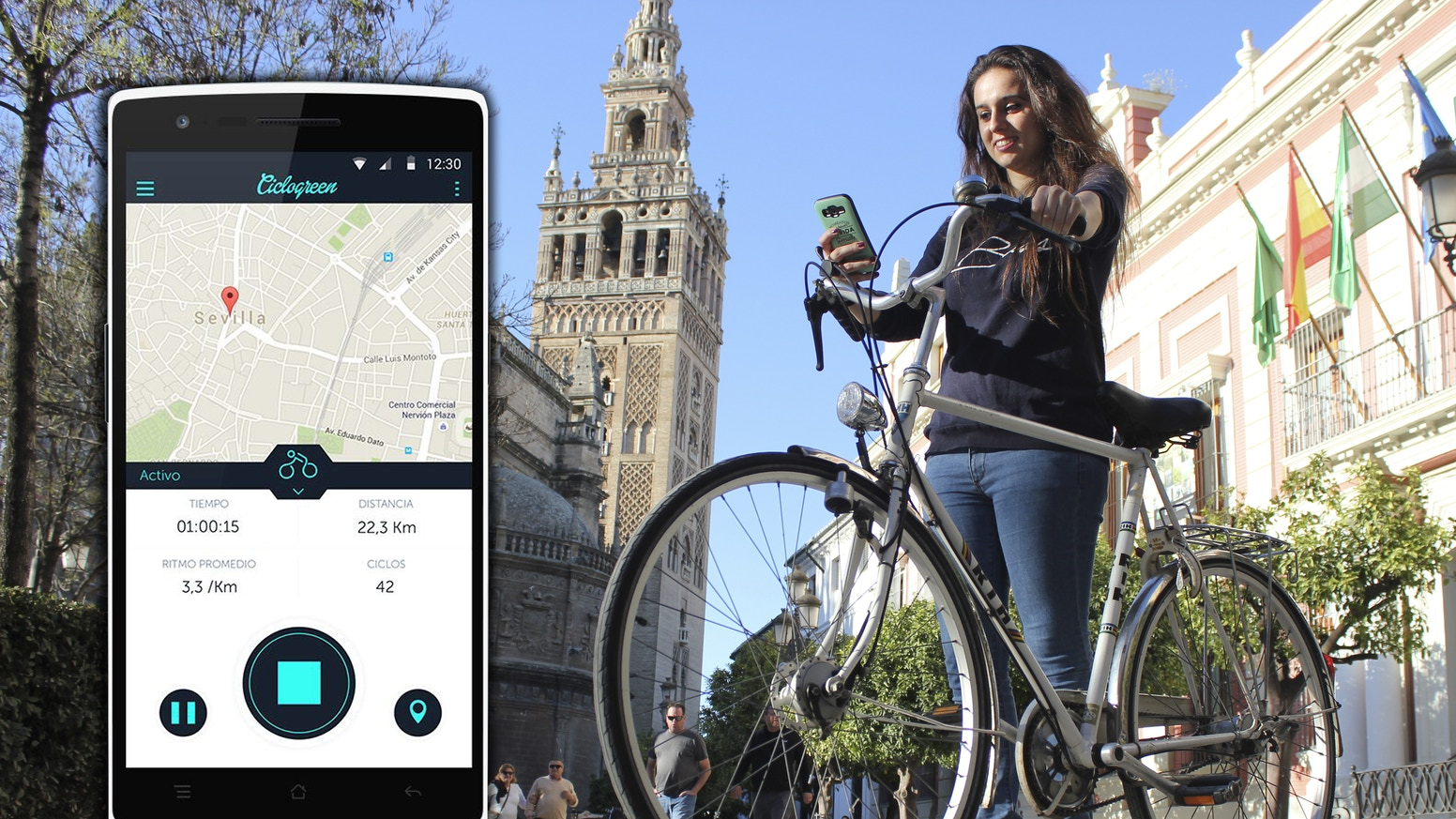 Ciclogreen: the app that rewards you for cycling  by