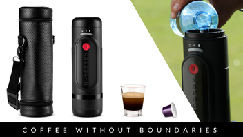 XSPROFIX - First Portable Lithium Battery Espresso Machine