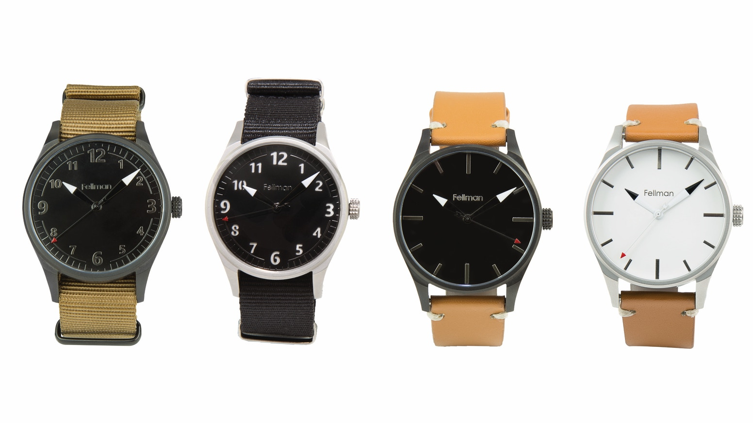 An affordable wristwatch that will survive generations of adventures. Assembled in the USA with Swiss movement and high-quality parts.