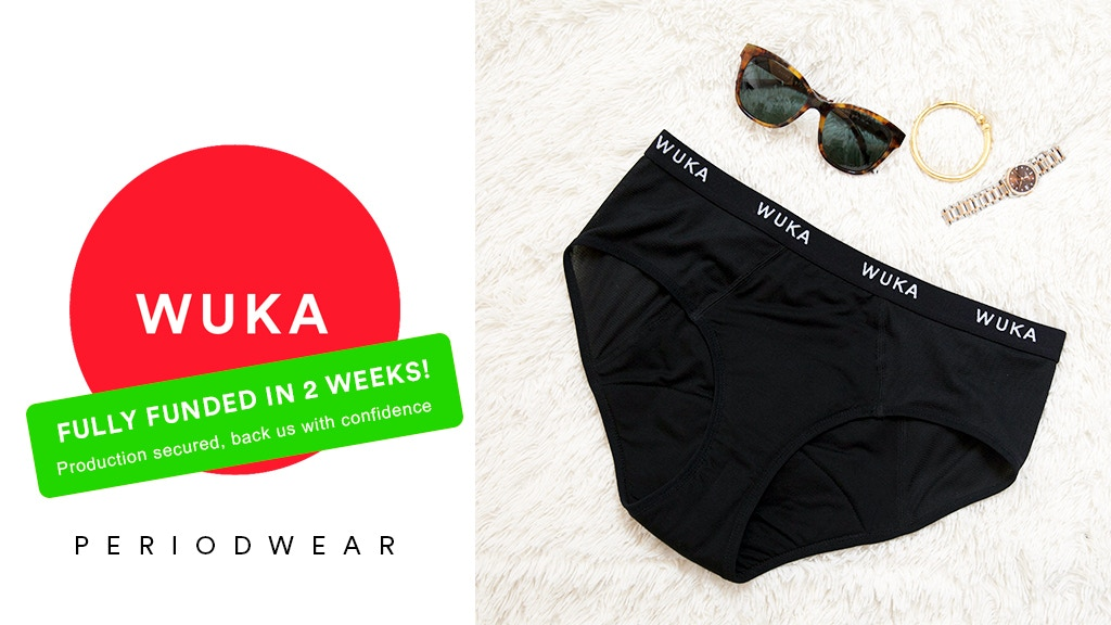 WUKA Period Underwear - Luxurious Comfortable Eco-friendly project video thumbnail