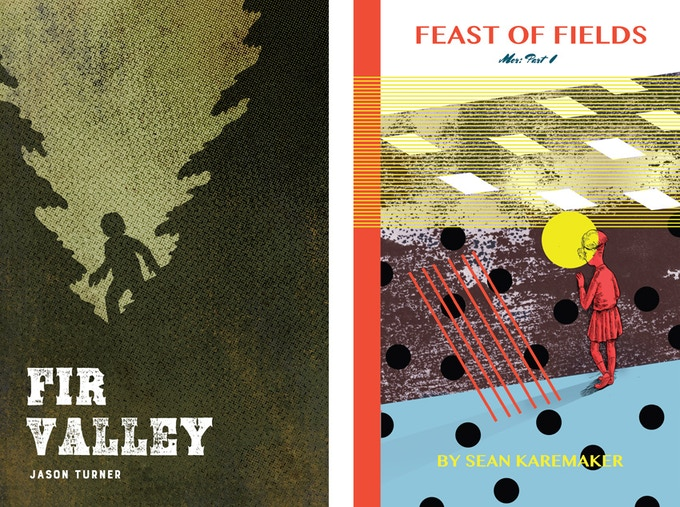 Fir Valley by Jason Turner and Feast of Fields by Sean Karemaker