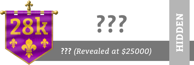 This is a mystery stretch goal! - Revealed at $25,000 funding - Unlocked at $28,000 funding
