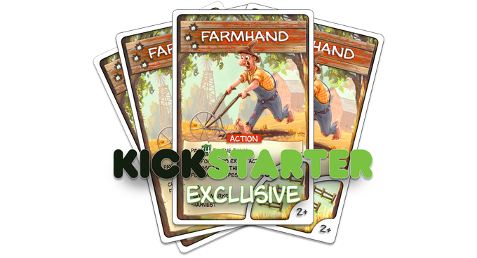KS Exclusive Promo Card will come with every KS copy of the game. (However, we reserve the right to hand out any extra Promo Cards we have at conventions.)