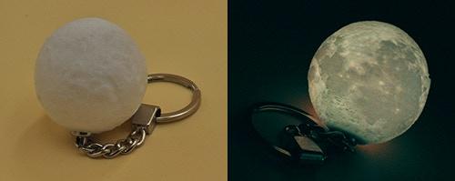 Pledge HKD$100 to get this unique moon light key chain