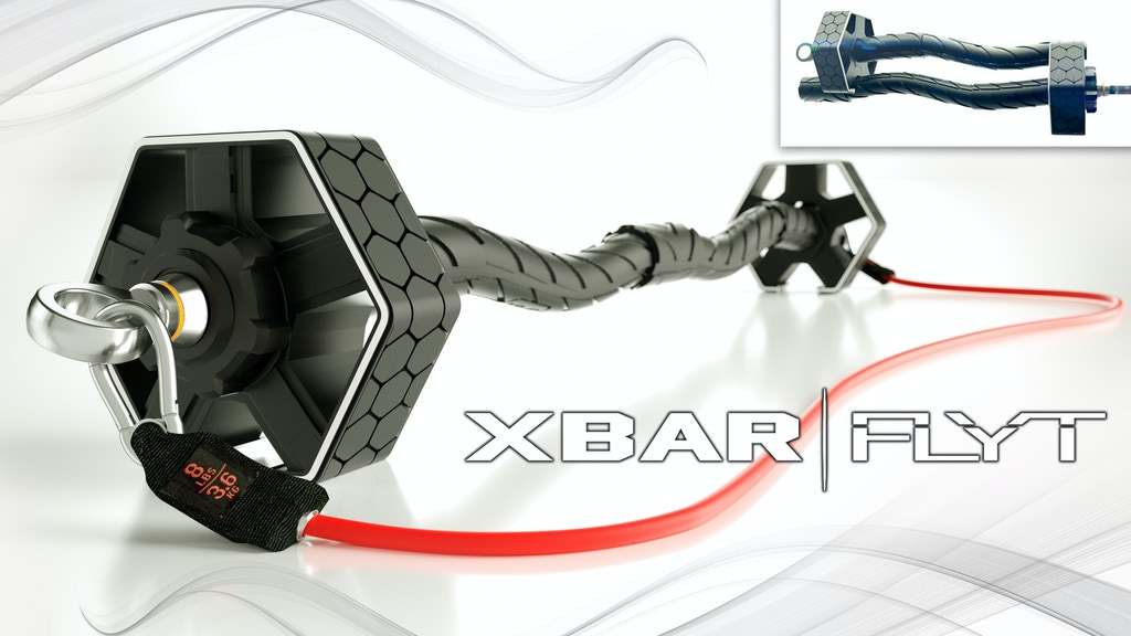 Xbar Flyt Travel Friendly Personal Fitness System