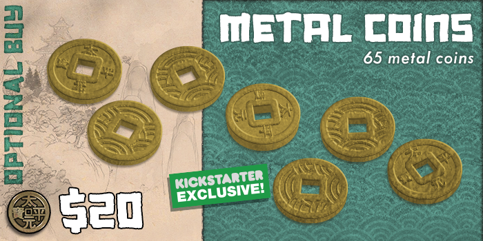 Rising Sun by CMON » Metal Coins and Full Gameplay Video