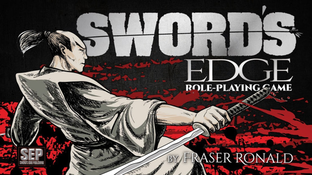 Sword's Edge, the Tabletop Role-Playing Game project video thumbnail
